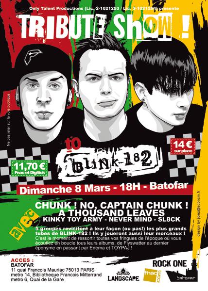 THE BLINK-182 TRIBUTE SHOW @ PARIS Fly-tributeshowblink-web